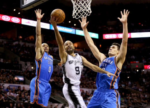 westbrook adams thunder parker spurs