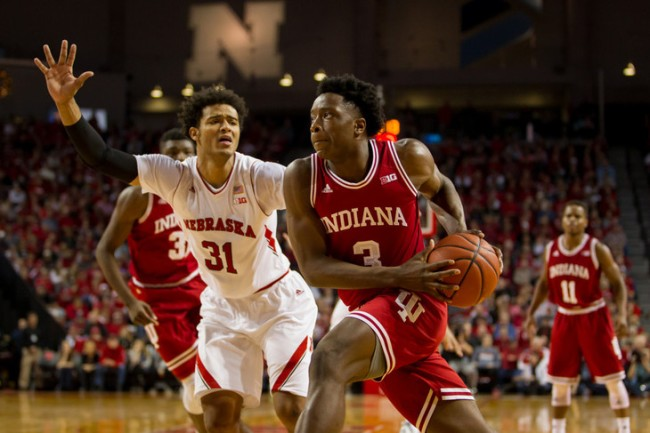 NCAA BASKETBALL: JAN 02 Indiana at Nebraska