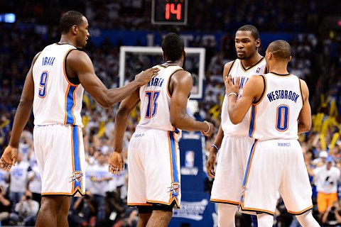 All-Time Oklahoma City Thunder team for 2K18 | Now That's