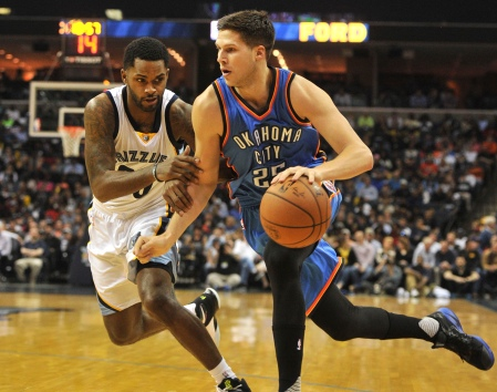 NBA: Oklahoma City Thunder at Memphis Grizzlies