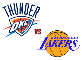 thunder v lakers