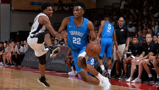 2018 NBA Summer League - Las Vegas - Oklahoma City Thunder v Brooklyn Nets