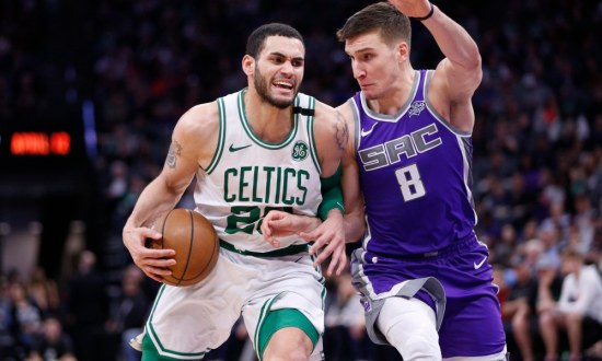 NBA: Boston Celtics at Sacramento Kings