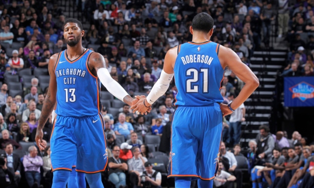 Oklahoma City Thunder v Sacramento Kings